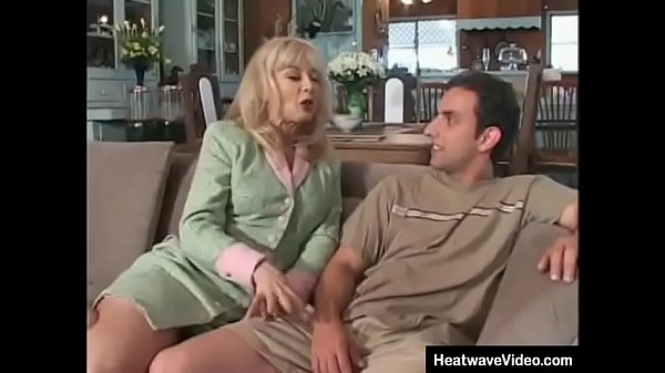 Classic mature MILF with stepson