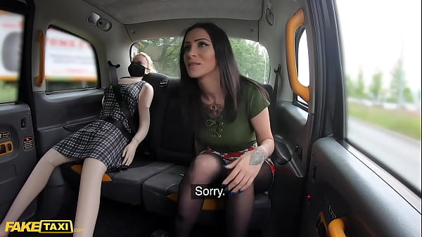 Fake Taxi Sex Doll Watches Cabbie Cheat with Br...