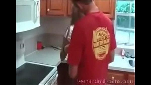 Stepson Fucks Stepmom - watch more at teenandmilfcams.com