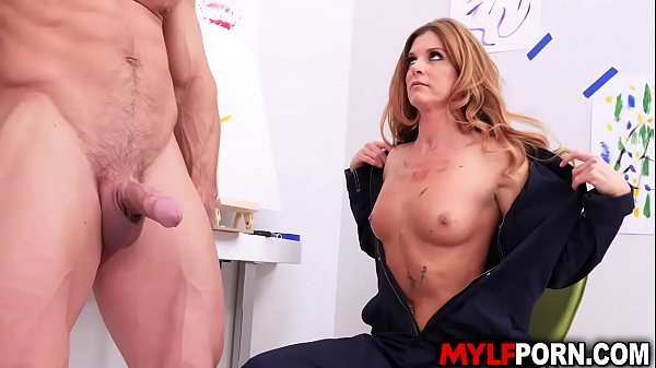 Smoking hot MILF artist India Summer loves doing nude fuck painting session with her favorite model Johnny Castle.