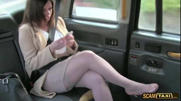 Office director gets pussy smashed hard by the taxi driver