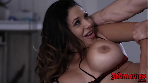 Seductress Missy Martinez jiggles big tits while pounded