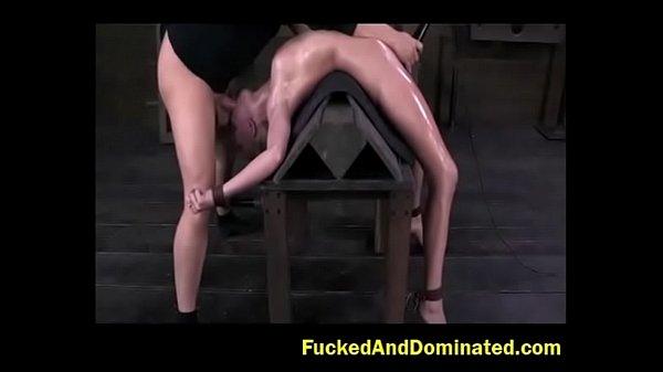 Former Gymnast gets destroyed by cock facefuck irrumo.com