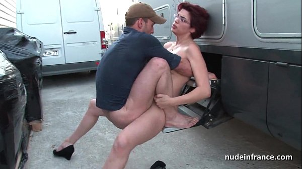 Amateur redhead hard anal fucked and fisted by ...