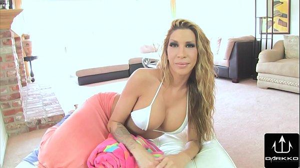 Darkko Big Tit Kayla Carrera Sucks Huge Cock POV