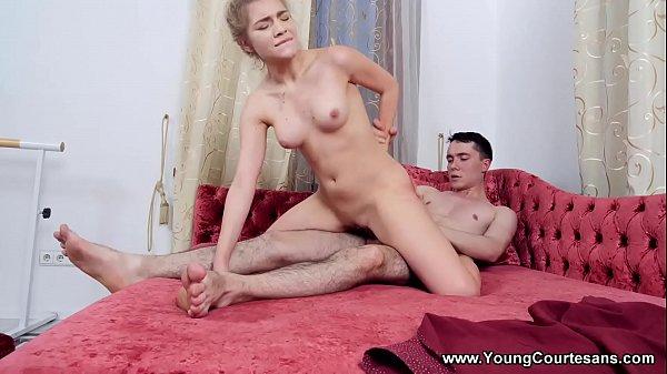 Young Courtesans - Courtesan ballerina Anna Krowe studio sex