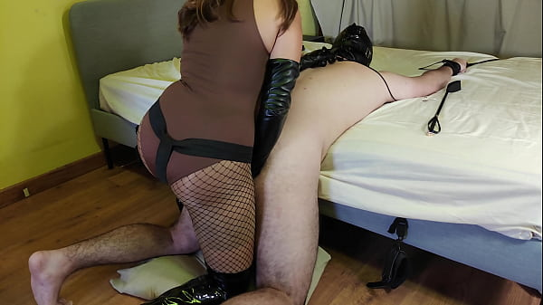 Chastity Slave Gets Pegged, Punished & Humiliated By Sexy Mistress Thumb