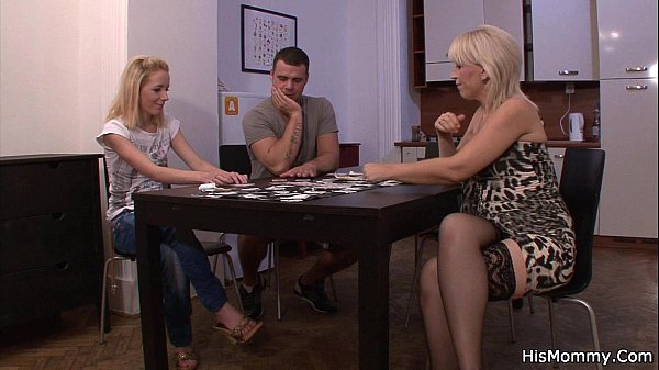 Strip poker leads to pussy toying