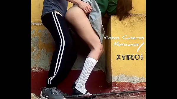 Quickie PUBLIC SEX, MEXICAN Cute Student Fucking in School Ground, TEENAGER Swallows All Cum Shot Thumb
