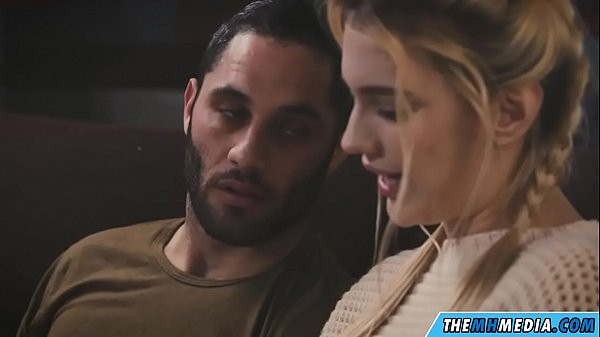 a young blonde babe loves romantic sex