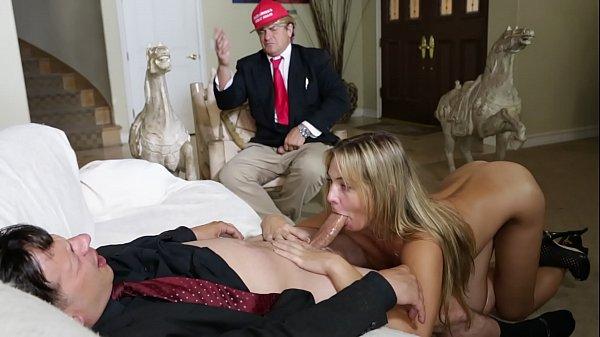 Deepthroat Diplomacy - With Donald and Ivanka Trump