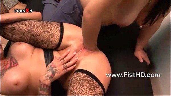 Lesbians Kimberly Scott and Talullah Tease fisting Thumb