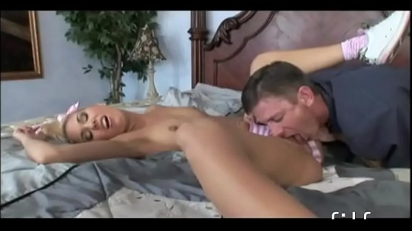 Babysitter gets fucked by the host