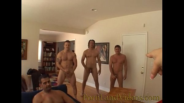 gangbang bitch sucking 4 big cocks cumshot on a face