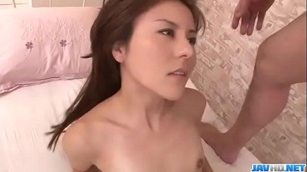 Rosa Kawashima, babe with small boobs, endures harsh sex - More at Javhd.net
