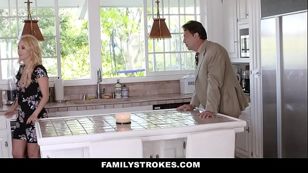 FamilyStrokes - Hot Stepmom (Aaliyah Love) Bails StepSon To Fuck
