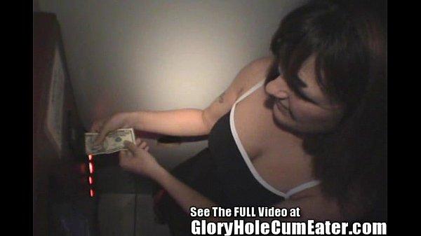 Glory Hole Girl Cindi Sloppy Wet Blowjobs