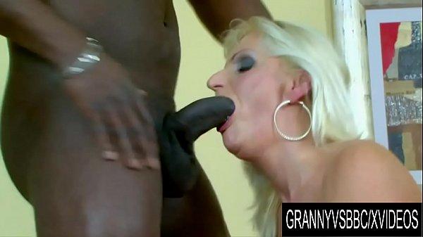 Granny Vs BBC - Blonde Older Slut Niko Gets Railed by a Black Man