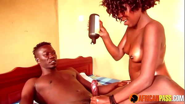 Big Booty Oiled Up Ebony Gets Big Black Cock