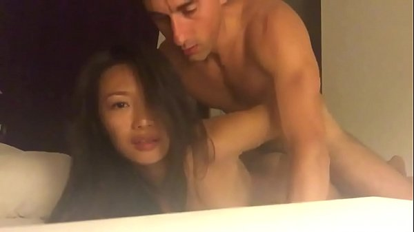 (Real homemade) Asian student fucked by her tea...