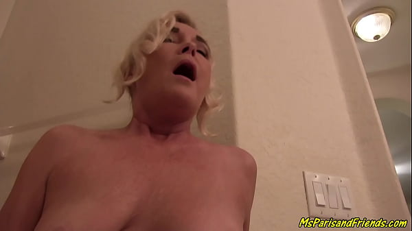My HOT StepMom is a Total Slut in Her Bathroom