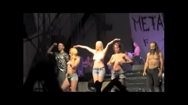 Topless and Nude Girls on Stage - Compilation Thumb