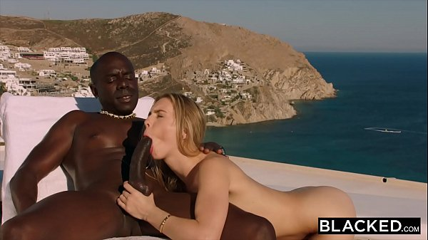BLACKED Blonde tourist fucked in the ass by black local Thumb