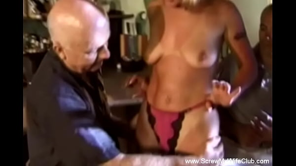 Natural Tits Hairy Blonde MILF Swinger And A Cumshot