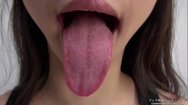 Tongue mouth Fetish