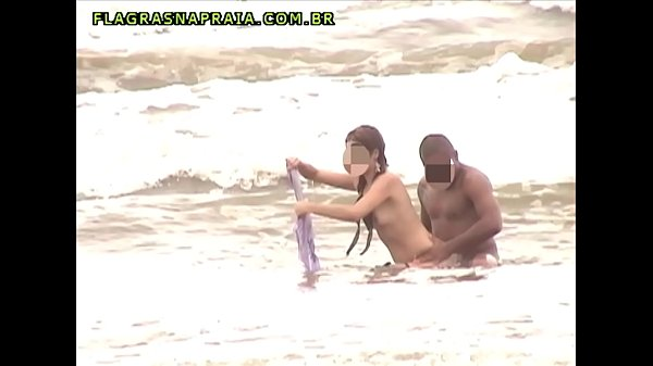 Amateur video of shameless couple fucking on brazilian beach Thumb