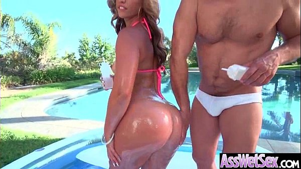 Anal Intercorse With Big Round Butt Hot Girl (Kelsi Monroe) vid-30