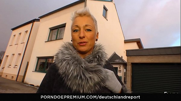 DEUTSCHLAND REPORT - German minx banged and cum...