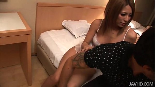Two busty Japanese dolls fuck a horny guy in a ...