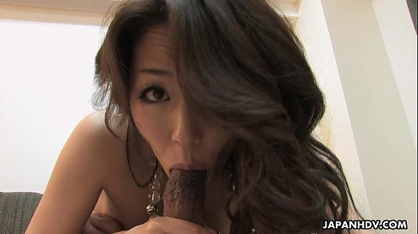 After the toying of her hairy cunt she sucks the dick