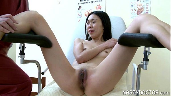 Petite Oriental Chick Shagged By Old Vagina Doc