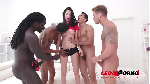 Mary Rose takes on four huge cocks SZ2293