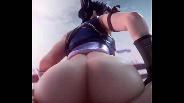 Crystal (Fortnite) Takes A Cock Up Her Ass