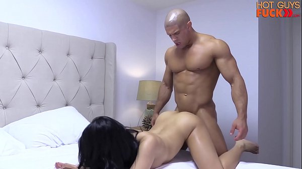 Superstar Bodybuilder Destroys His Roomates Asian Girl