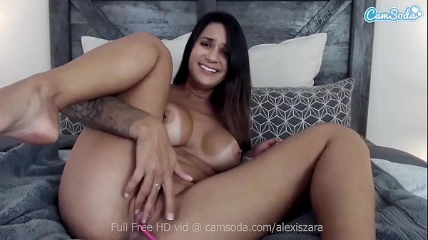 Camsoda - Alexis Zara Masturbation and orgasms on cam
