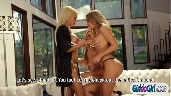 Luna Star makes Adriana Sephora n Kat Dior lick pussy n ass Thumb