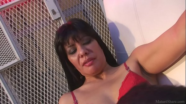 Victorious milf with dirty dreams dominating over her lovely husband