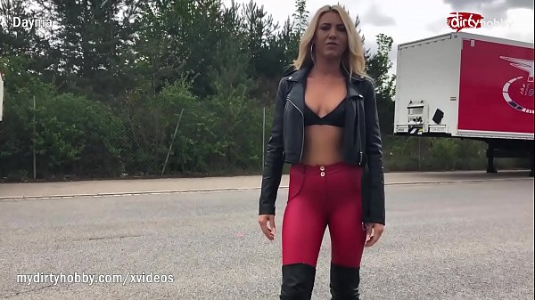 MyDirtyHobby - Kinky blonde with big tits doing anal with a truck driver Thumb