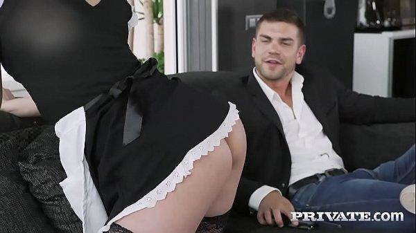 Private.com redhead maid hungry for cum