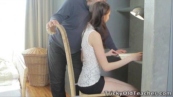 Tricky Old Teacher - Alina loves to get good gr...