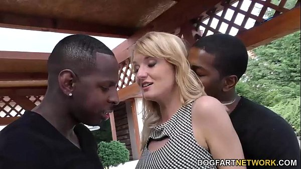 Bree Haze Gets DP'd by big black cocks