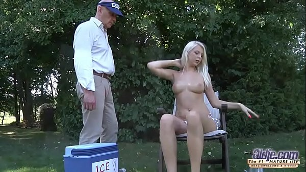 The icecream man gets to have sex with beautifu...
