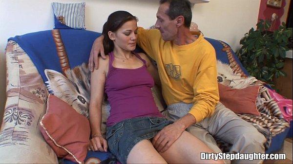 Big Cock Skinny Stepdad Inside My Tight Pussy