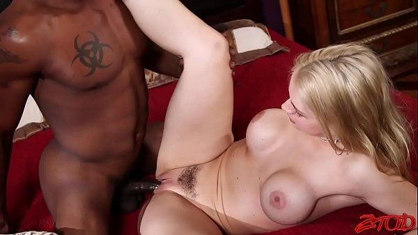 Sarah Vandella Sucks Black Cock