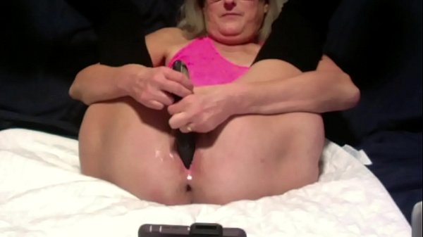 Horny Wife Dildos Wet Pussy Anal Beads Inserted Thumb