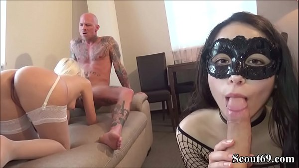 Two German Couples change her Girlfriends to Fu...